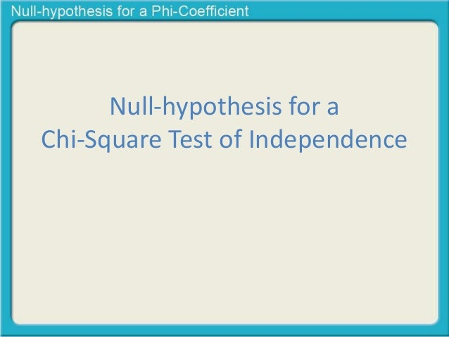 chi square test of independence Excel formula for t test anova, regression, and chi-square  anova, regression, and chi-square  the important assumption of independence that is required for .