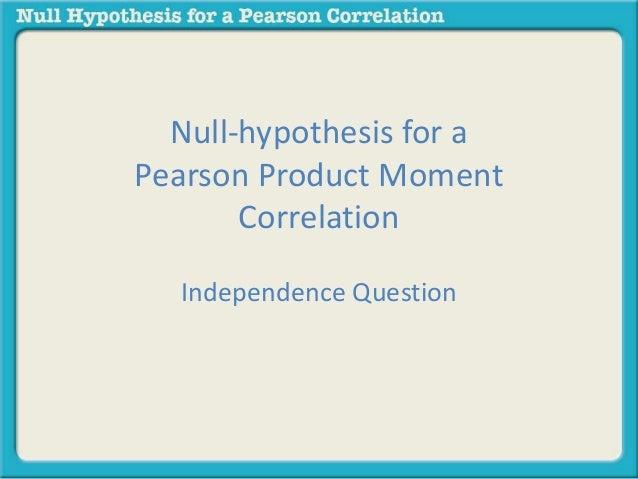 Dissertation null hypothesis