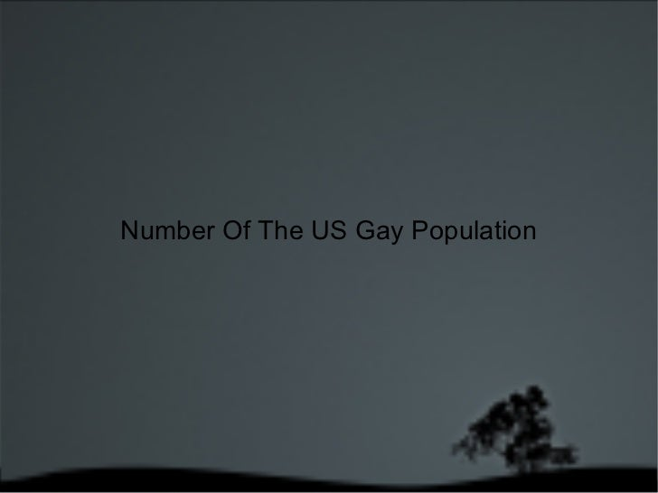 Number Of The US Gay Population