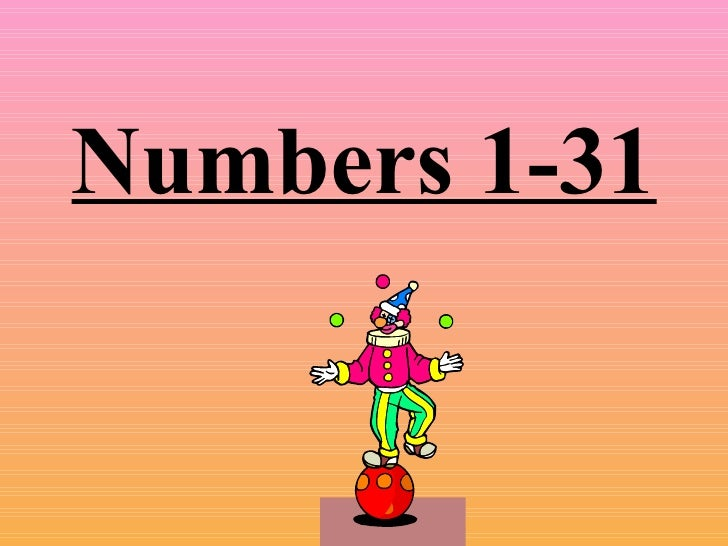 Numbers1 31