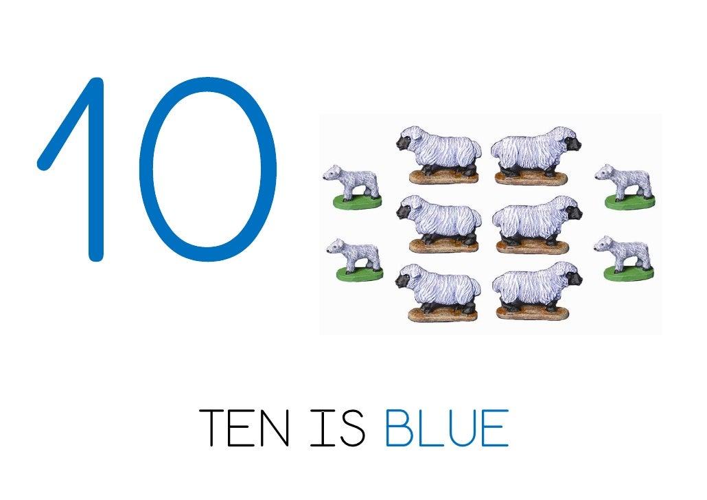 TEN IS BLUE