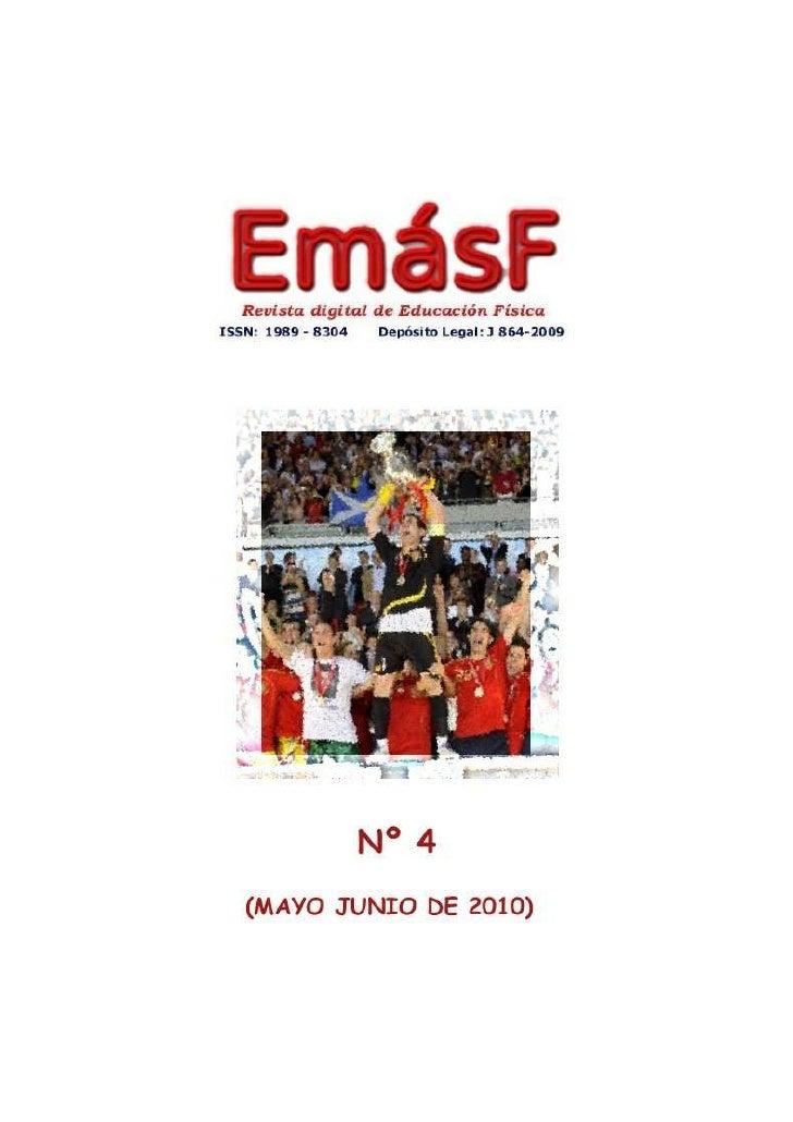 Revista digital de Educación física nº4