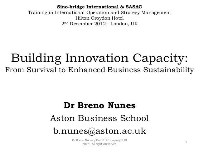 Sino-bridge International & SASAC      Training in International Operation and Strategy Management                        ...