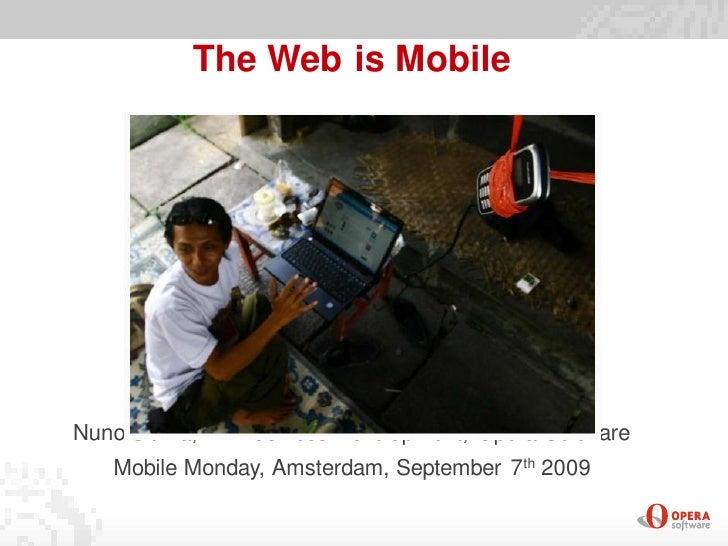 Nuno Sitima - State of the mobile web