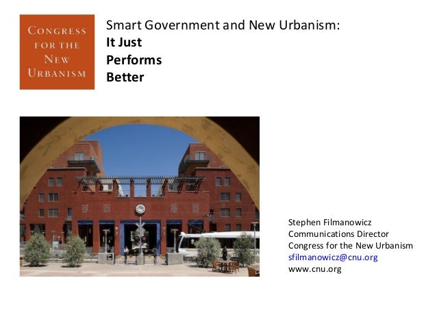 New Urbanism: Just... performs...better