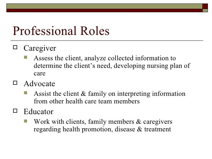 role of the rn Although many practices and jurisdictions across canada have developed position descriptions for registered nurses working in primary care settings, there is still a need for a national understanding of the optimal role of the rn many rns working in primary care settings do not realize their full potential, including the.