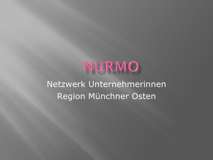 Netzwerk Unternehmerinnen Region Münchner Osten