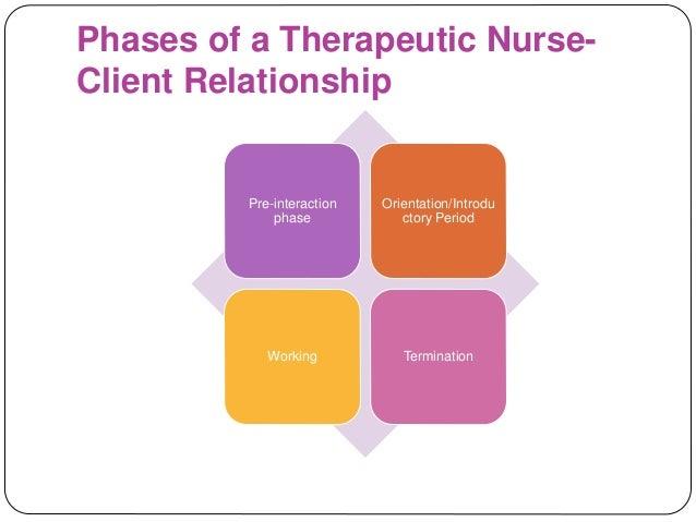 Nurse–client relationship