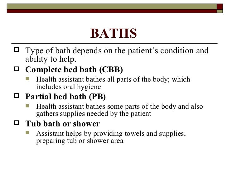 bed bathing a patient essay Essay on bed, bath, and bottoms  including nonexistence of a standardized use of bathing products or a bathing process  physician and change bed linens essay.