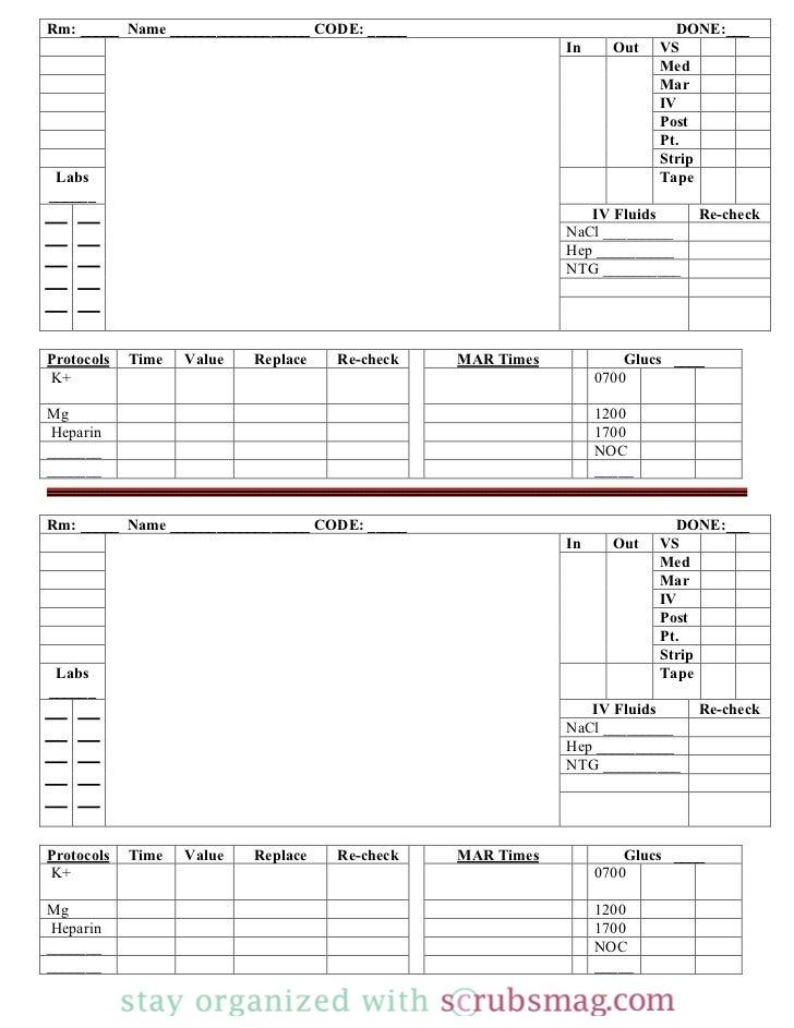 Nurse brain sheet_12_hour_day_night_rotation