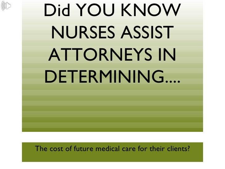 Nurse Life Care Planner Power Point 2.Ppt