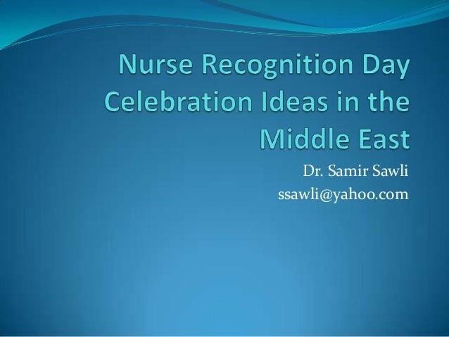 Dr. Samir Sawlissawli@yahoo.com