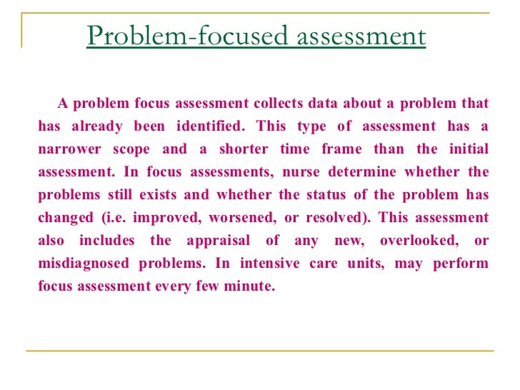 nursing essays on assessment Essay on community health nursing assessment chapter 32 nursing assessment cardiovascular system essay 3231 words | 13 pages psychiatric clinical nursing assessment and care plan essay.