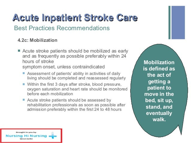 Home care plan for stroke patients - Home design and style