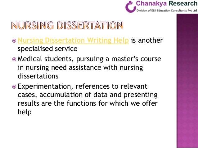 How To Write A Dissertation Nursing