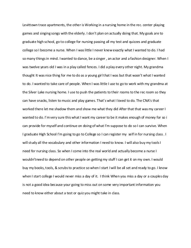 nurse practitioner program application essay