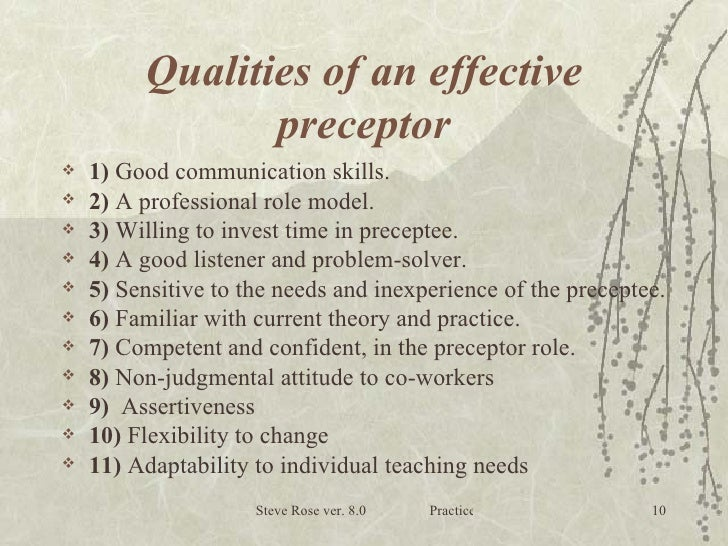 qualities of a good nurse The qualities of a good manager depend on the organization, strategy, objectives, and team to manage does your manager have what it takes.
