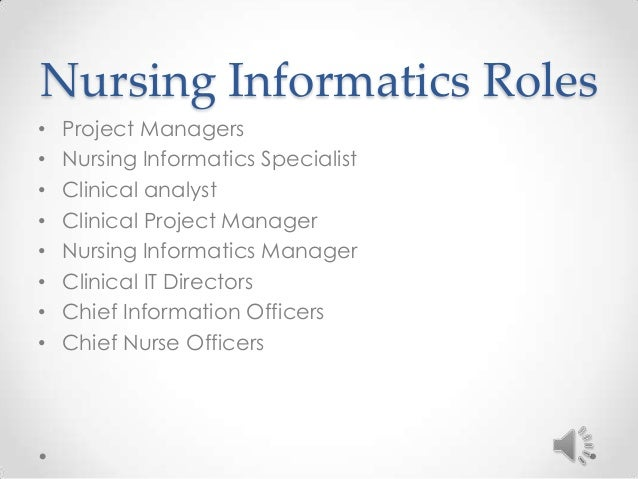 Nursing Informatics Team 3 Presentation