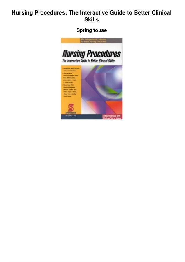skills in clinical nursing pdf