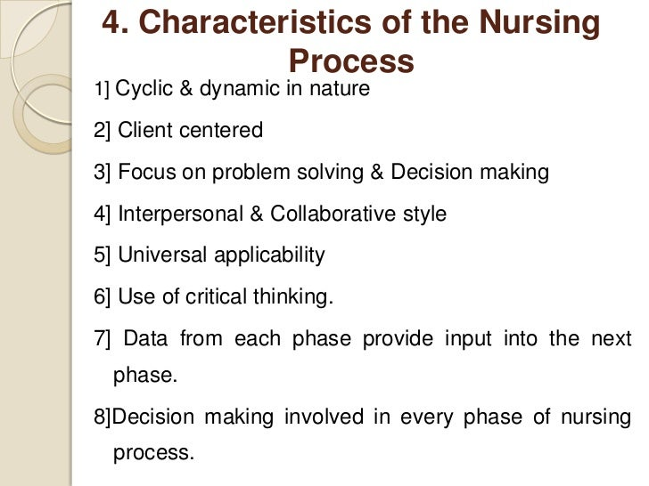influence of nurses performance with critical thinking and problem solving process Critical thinking is needed in careers where problem solving and decision how to teach critical thinking skills for nurse aides [involve critical.