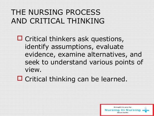 critical thinking in nursing interview questions Кажется, что-то пошло не так