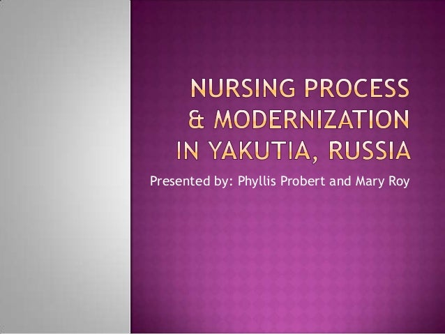Nursing process & modernization