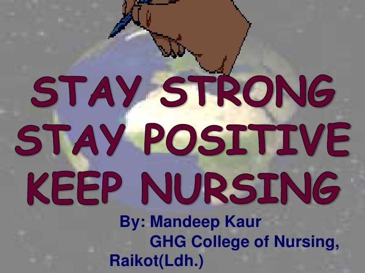 By: Mandeep Kaur     GHG College of Nursing,Raikot(Ldh.)