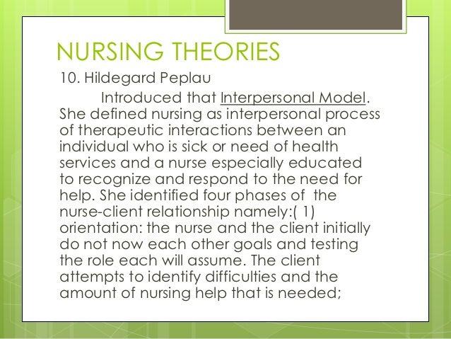 Nursing Theory Paper
