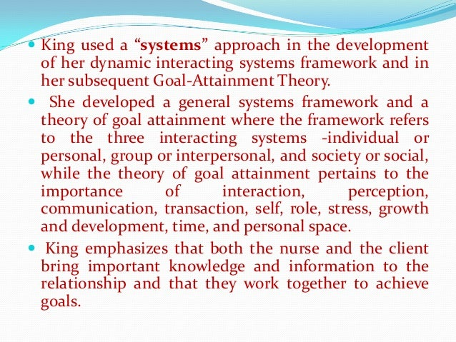general systems theory in nursing Basic concepts of general systems theory with well-known laws and principles are discussed, as well as related topics like cybernetics and information theory international journal of general systems related books a course in discrete mathematical structures.