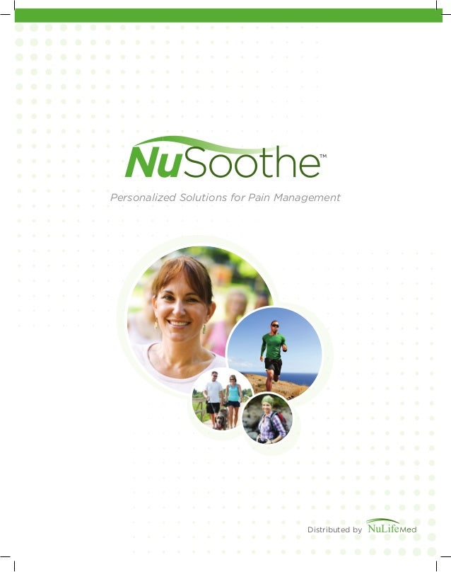 Personalized Solutions for Pain Management Distributed by