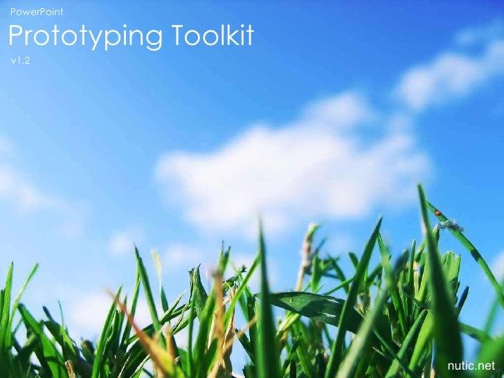 PowerPoint Prototyping Toolkit v1.2 nutic.net
