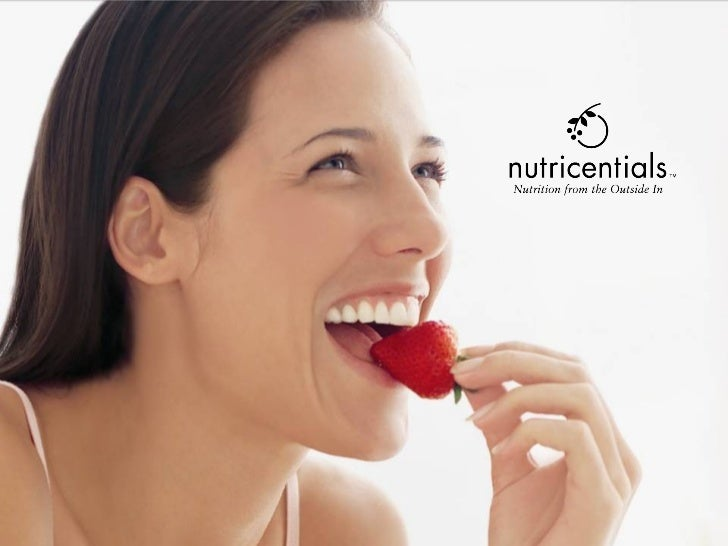 Nutrition from the Outside In                                The Science of                                Nutricentials™