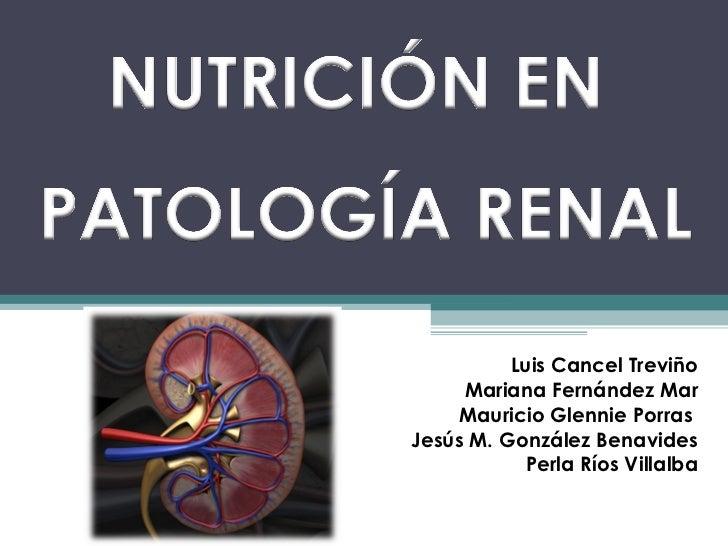Nutrici n enfermedad renal for Alimentos prohibidos para insuficiencia renal