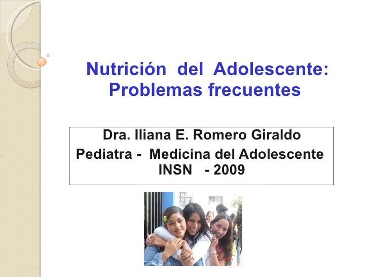 NutricióN  2009 Cursocm