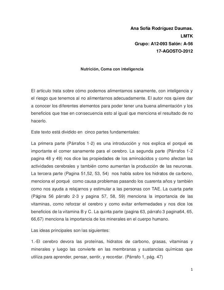 Ana Sofía Rodríguez Daumas.                                                                             LMTK              ...