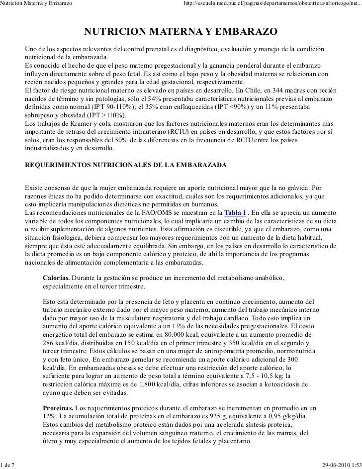 Nutrición Materna y Embarazo                                      http://escuela.med.puc.cl/paginas/departamentos/obstetri...