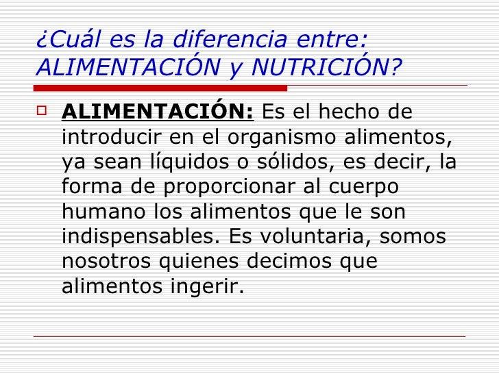 Resultado de imagen de alimentacion y nutricion