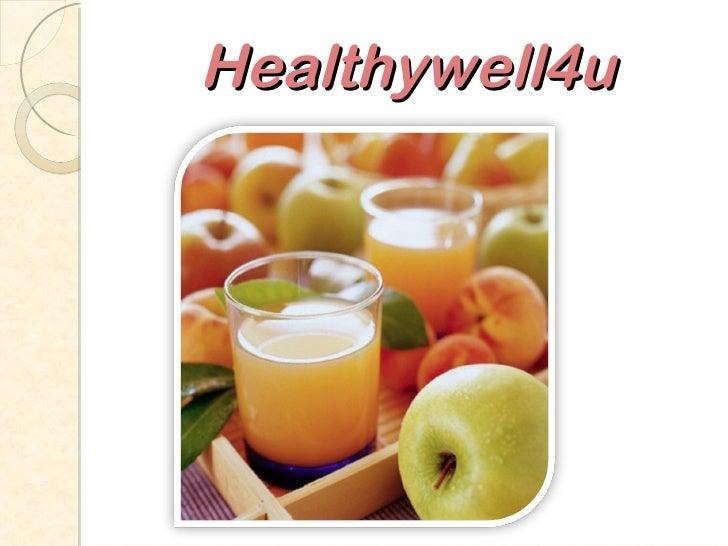 Healthywell4u