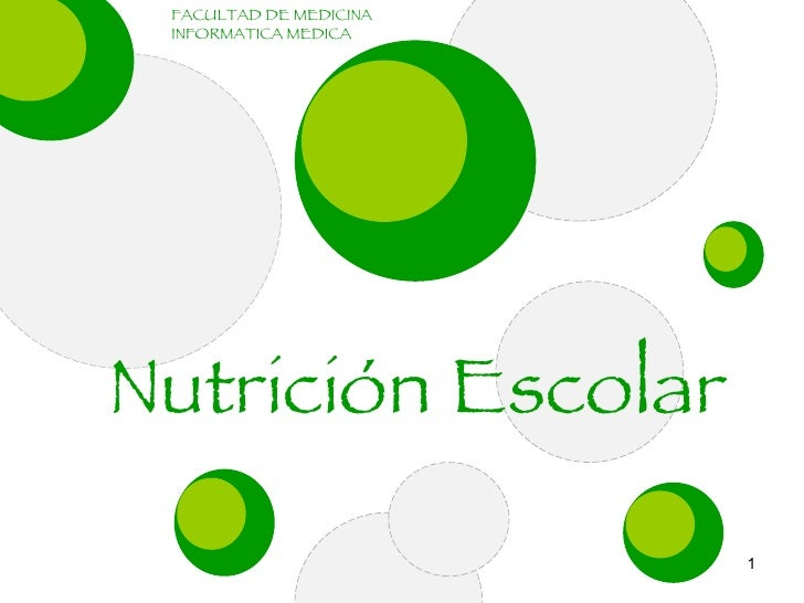 Nutricion Escolar IM