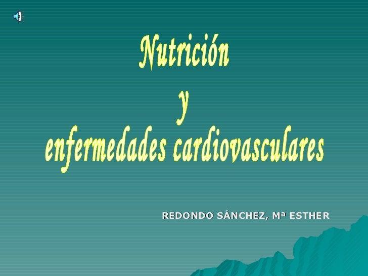 Nutricion y cardiovasculares