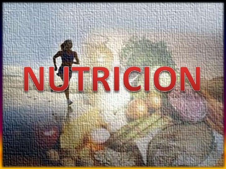 NUTRICION<br />