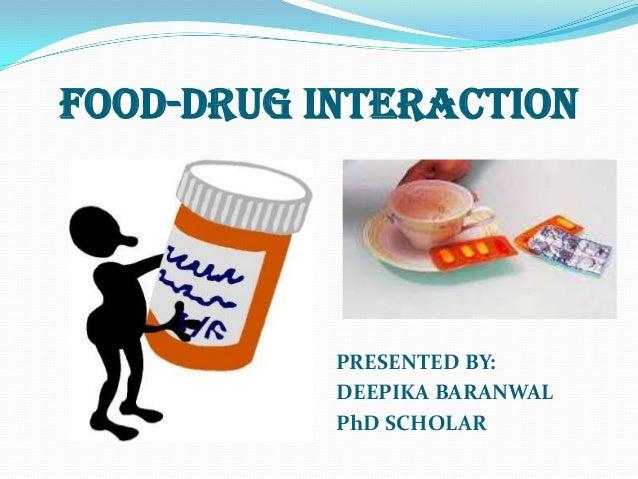 Nutrient drug interaction