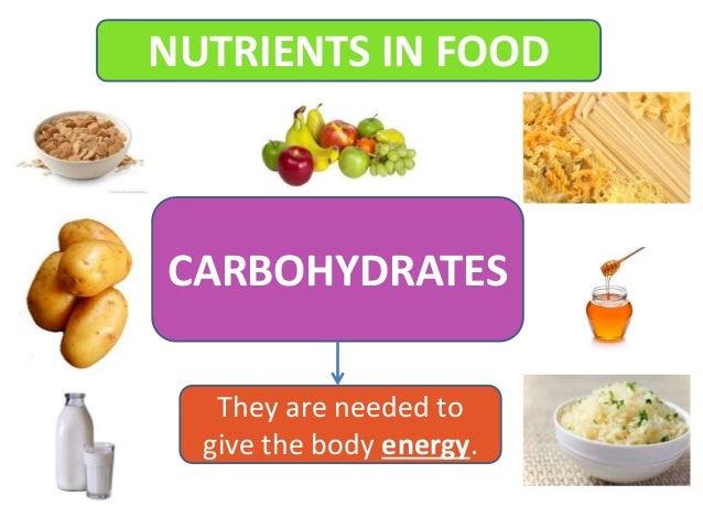 Nutrients in food y3