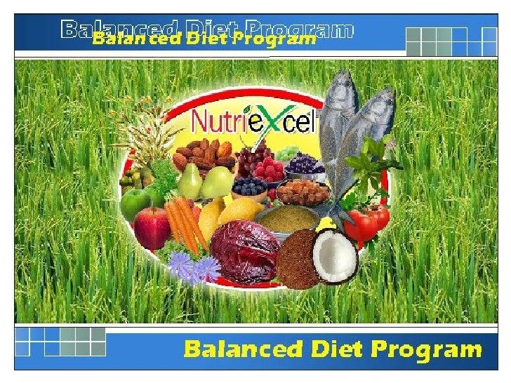 NutriExcel - Balanced Diet Program