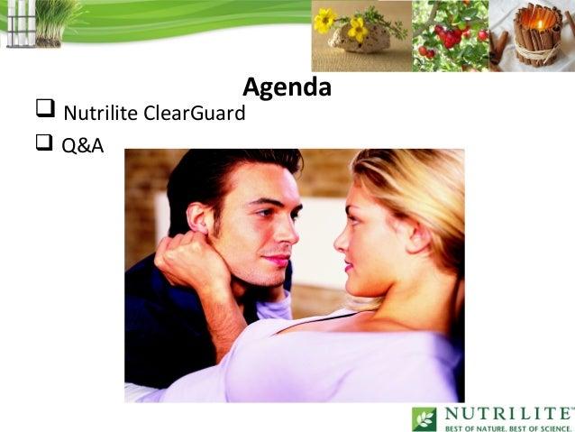 Agenda Nutrilite ClearGuard Q&A