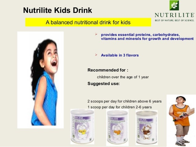 use of nutrilite daily