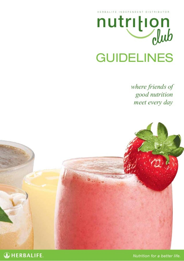 GUIDELINES where friends of good nutrition meet every day