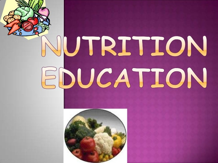 Is the key….……                              Healthy Body and Mind. The   study of various nutrients, their functions, foo...