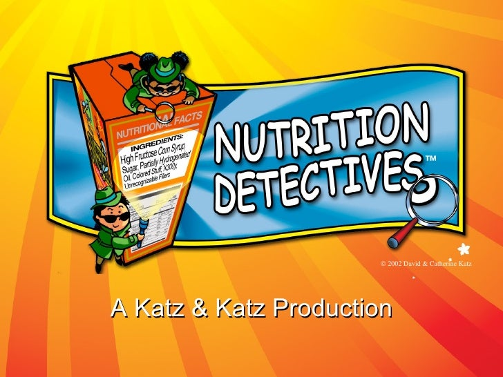 Nutrition Detectives Class (4-6th grade)