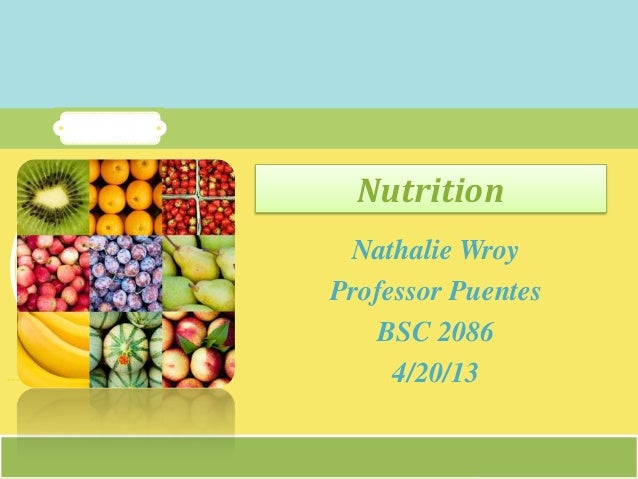 Nutrition final